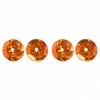 Sequins Round 8mm Aprx 850pcs Hologram Orange